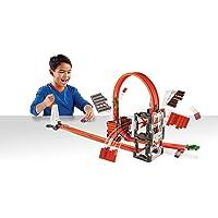Hot Wheels Track Builder Mega Yıkım Çılgın Çarpışma Yarış Seti - Hot Wheels