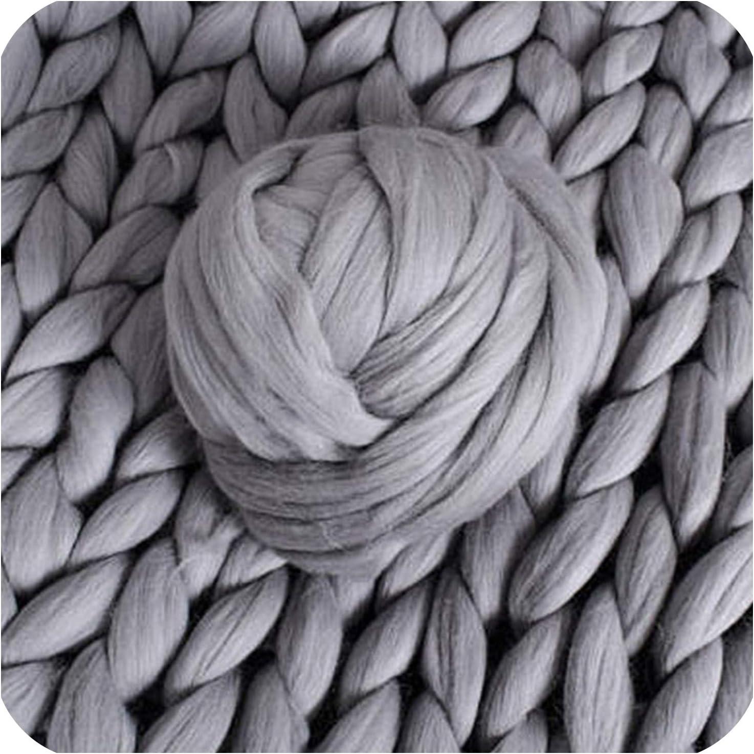 Fiber Art Worsted Weight Wool Blend Yarn Fiammato Cream Wool Blend Ice Yarn Thin to Thick Yarn Wool Blend Yarn 58591 Unique Yarn