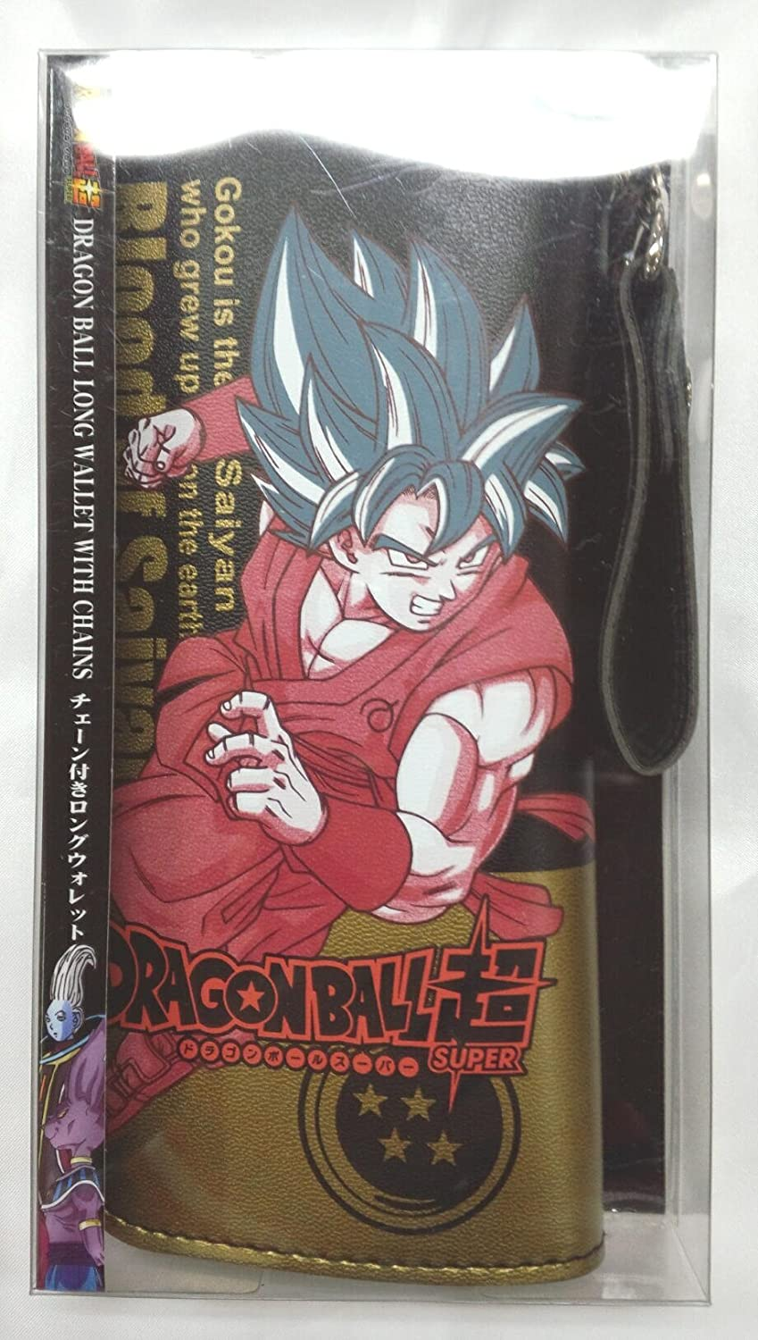 Dragon Ball cadena de súper larga billetera con cartera a largo Super Saiyan Goku Dios: Amazon.es: Juguetes y juegos