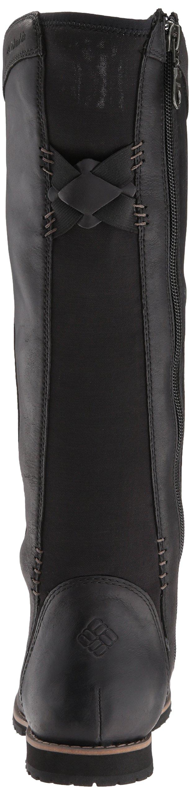 Columbia Women's Twentythird Ave Waterproof Tall Boot Uniform Dress Shoe, Black, Mud, 9 B US by Columbia (Image #2)