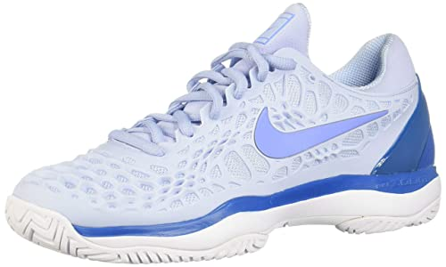 Nike Nike Zoom Cage 3 HC (Light Blue FuryMetallic SilverNeo Turquoise) Women's Tennis Shoes from 6pm | People