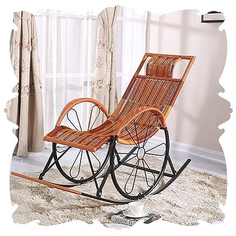 Q.AWOU Mecedora Jardín Relax Muebles Sillones para el hogar ...