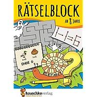 Rätselblock ab 8 Jahre: Kunterbunter Rätselspaß: Labyrinthe, Fehler finden, Bilderrätsel, Punkte verbinden u.v.m. (Rätseln, knobeln, logisches Denken, Band 633)