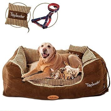 Masthome - Cama para Perro (120 x 90 x 26 cm, Impermeable, Lavable a máquina): Amazon.es: Productos para mascotas