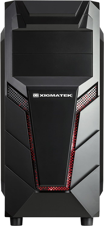 Winsis GM01 Black Mid Tower ATX 12V Computer Case Brown Box