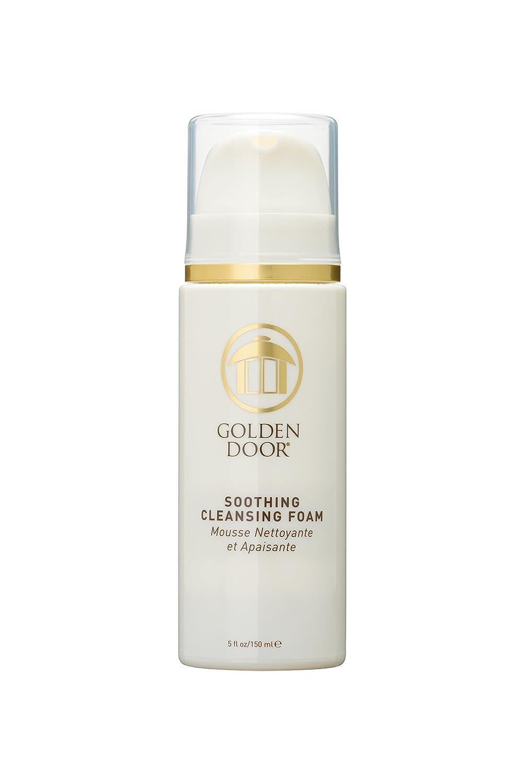 Golden Door Skin Care Soothing Foaming Cleanser, hyaluronic Acid, Soothing, moisturizing, facewash, Lavender, Clean, 5 fl oz, All Natural