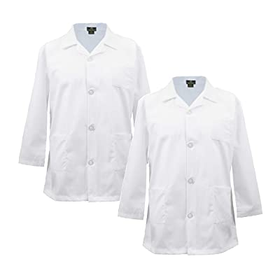 Natural Uniforms Childrens Lab Coat-Soft Touch-Multi Pack: Clothing