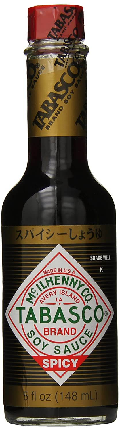 Glass Tabasco Soy Sauce, 5 Ounce