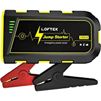 $39 » LOFTEK Portable Car Battery Jump Starter (Up to 7.0L Gas or 5.5L Diesel Engine), 12V Power Pack…