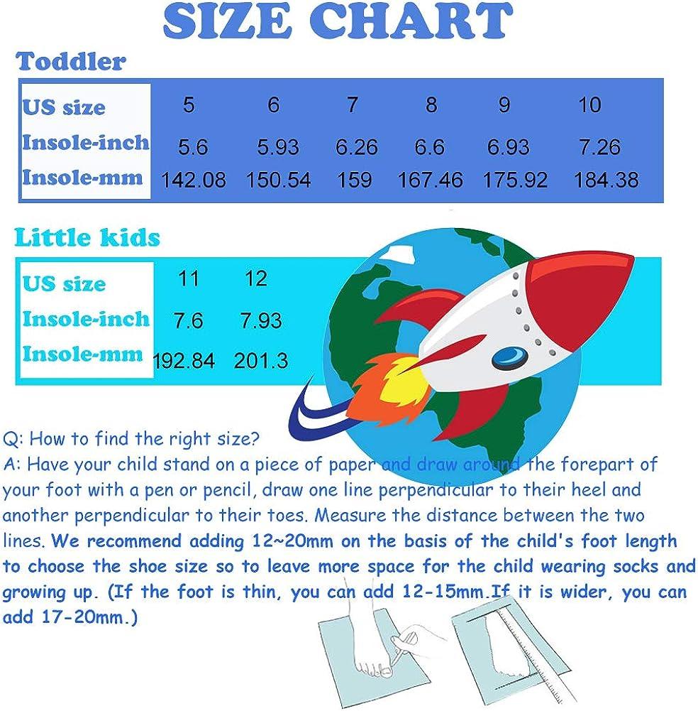 WDSAFSLO Kids Rain Boots Size