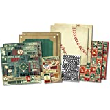 Karen Foster Design Scrapbook Kit, Rookie of the Year, 12 x 12""