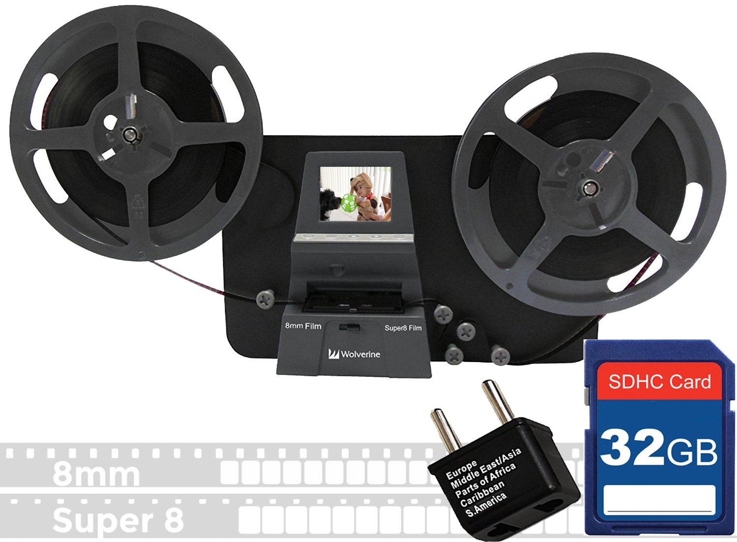 Amazon.com: Wolverine 8mm & Super 8mm Reels to Digital MovieMaker ...