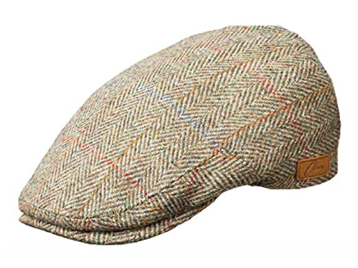 4db360370 Olney York Wool Tweed Flat Cap at Amazon Men's Clothing store: