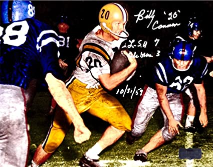 dff54c73588 Billy Cannon Signed LSU Tigers Iconic 8x10 Color Photo With