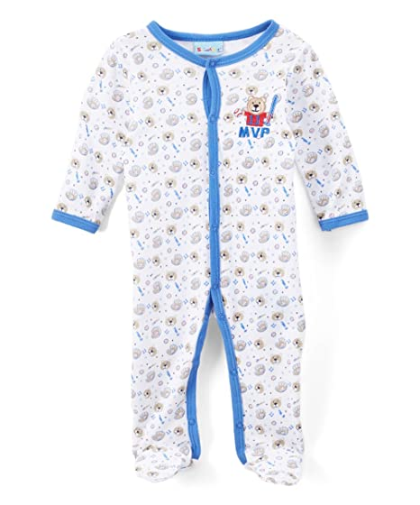 Amazon Com Sweet Soft Baby Boys Sleep N Play Mvp Theme Clothing