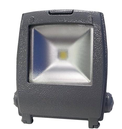 Eastech ECO. Foco proyector LED de 30W de luz fría (6.000 K) IP65 ...