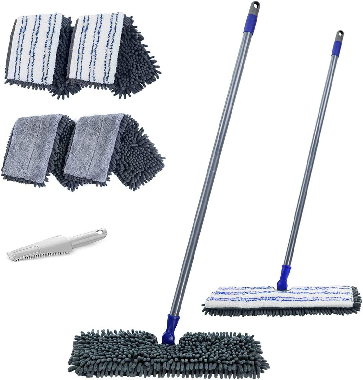 Microfiber Flip Flat Dust Mop