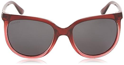 Sunoptic Damen KatzenaugeSonnenbrille Gr. One size, Rot - Red (Burgundy)