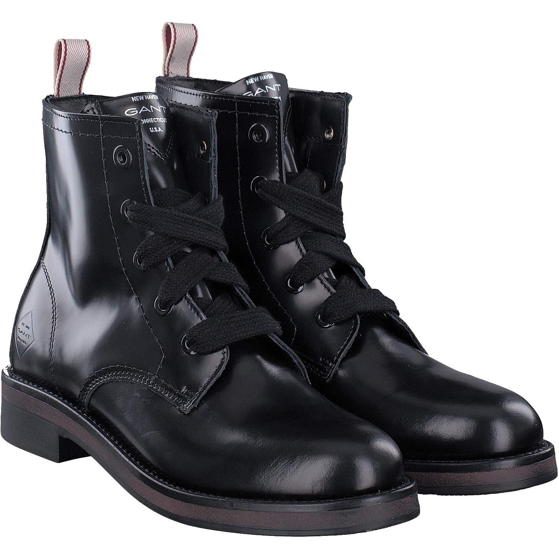 GANT Footwear Damen Malin Stiefeletten, Schwarz (Black G00