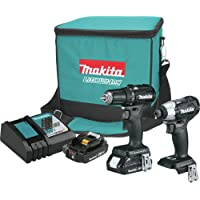 Makita CX200RB-R 18V LXT Lithium-Ion Sub-Compact Brushless Cordless 2-Pc. Combo Kit (Certified Refurbished)
