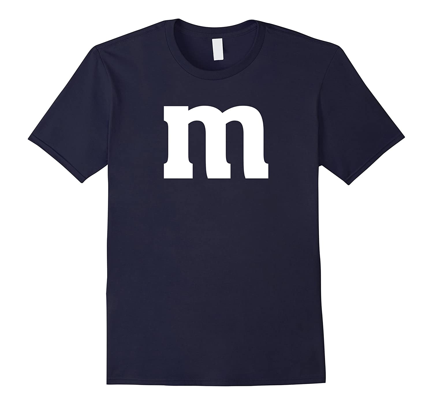 Letter M Lowercase T-Shirt - English Alphabet Latin Tees-T-Shirt