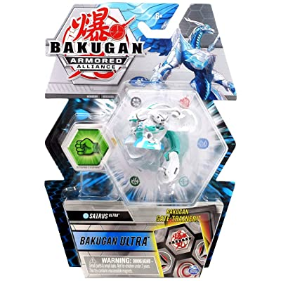 Bakugan Ultra, Haos Sairus, Season 2 Armored Alliance - 3-inch Tall Collectible Transforming Creature, for Ages 6 and Up: Toys & Games