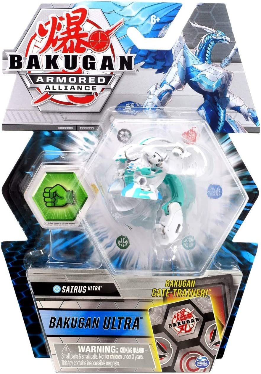 Bakugan Ultra S2 Wave 2 Haos Sairus Collectible Transforming Action Figure