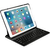 Apple ipad Air 2 Keyboard Cover - Inateck Ultra-Slim Wireless Bluetooth Keyboard Case with Auto Wake / Sleep Function and Multi-Angle Stand for Apple iPad Air 2, iPad Pro 9.7 【Not compatible with 2017 New iPad 9.7 inch/iPad Air1】- Black