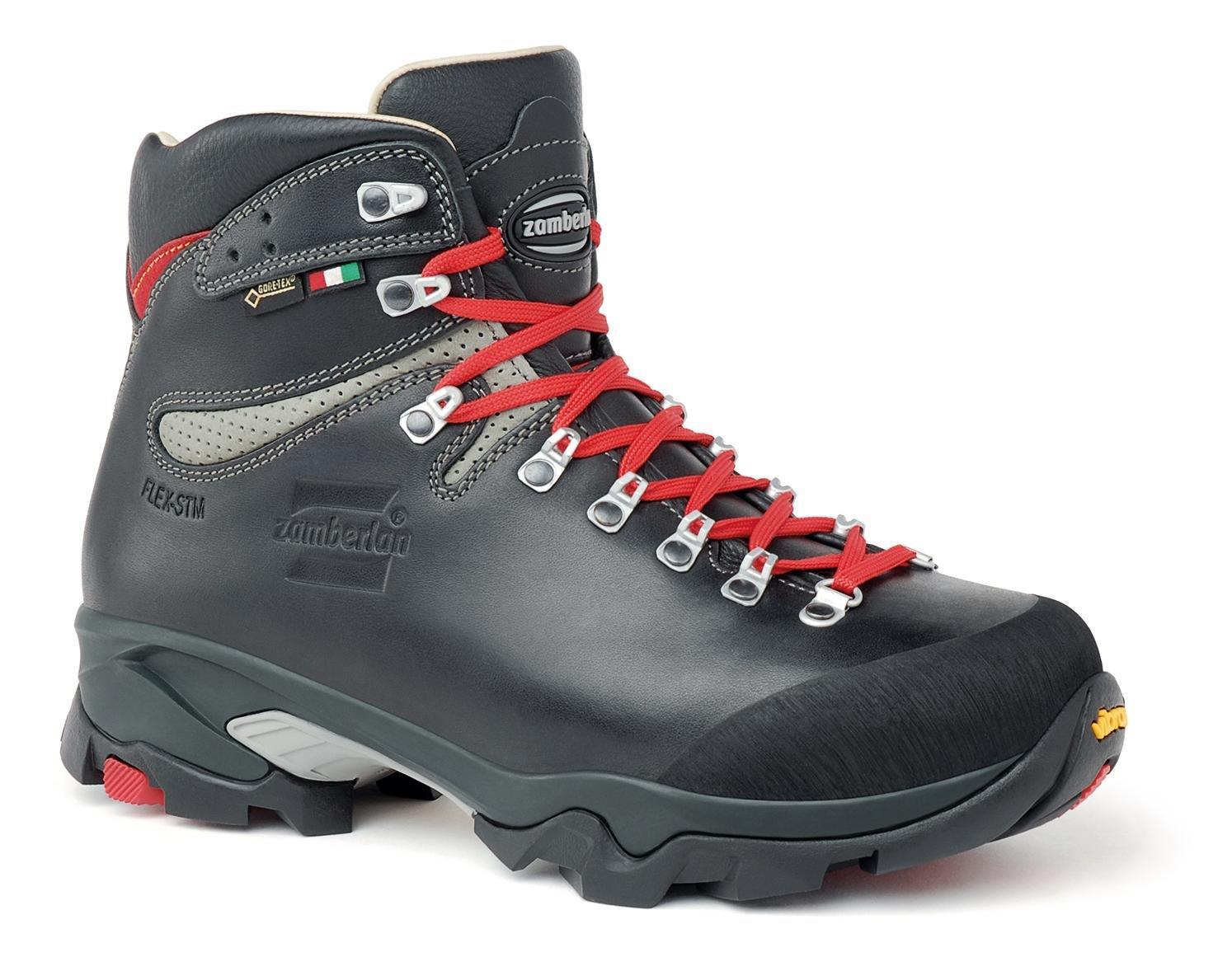 Zamberlan - 1996 VIOZ lux GTX rr - Leather Backcountry Boots - Waxed Black - 9.5 by Zamberlan