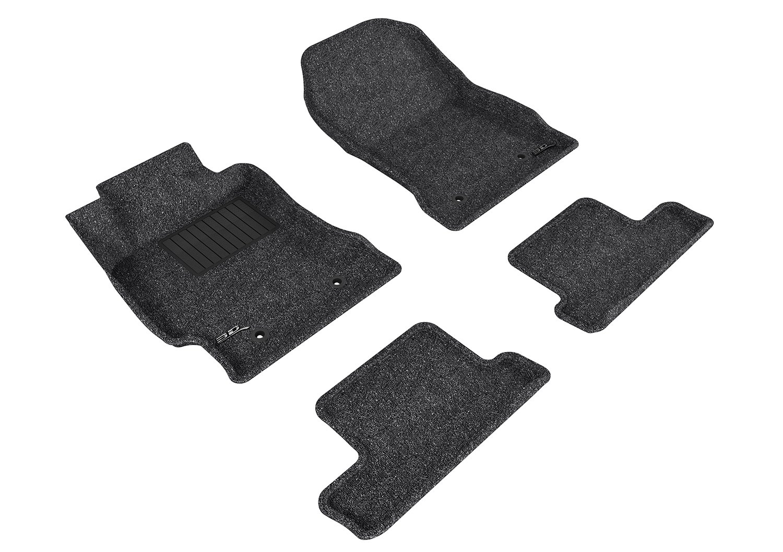 Classic Carpet 3D MAXpider Second Row Custom Fit Floor Mat for Select Scion FR-S Models Black L1SC00222209
