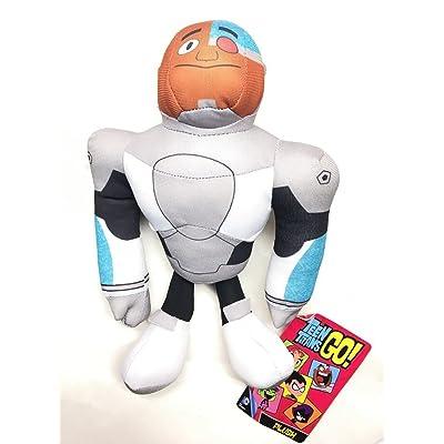 "Teen Titans Go! 10"" Cyborg Plush Figure: Toys & Games"
