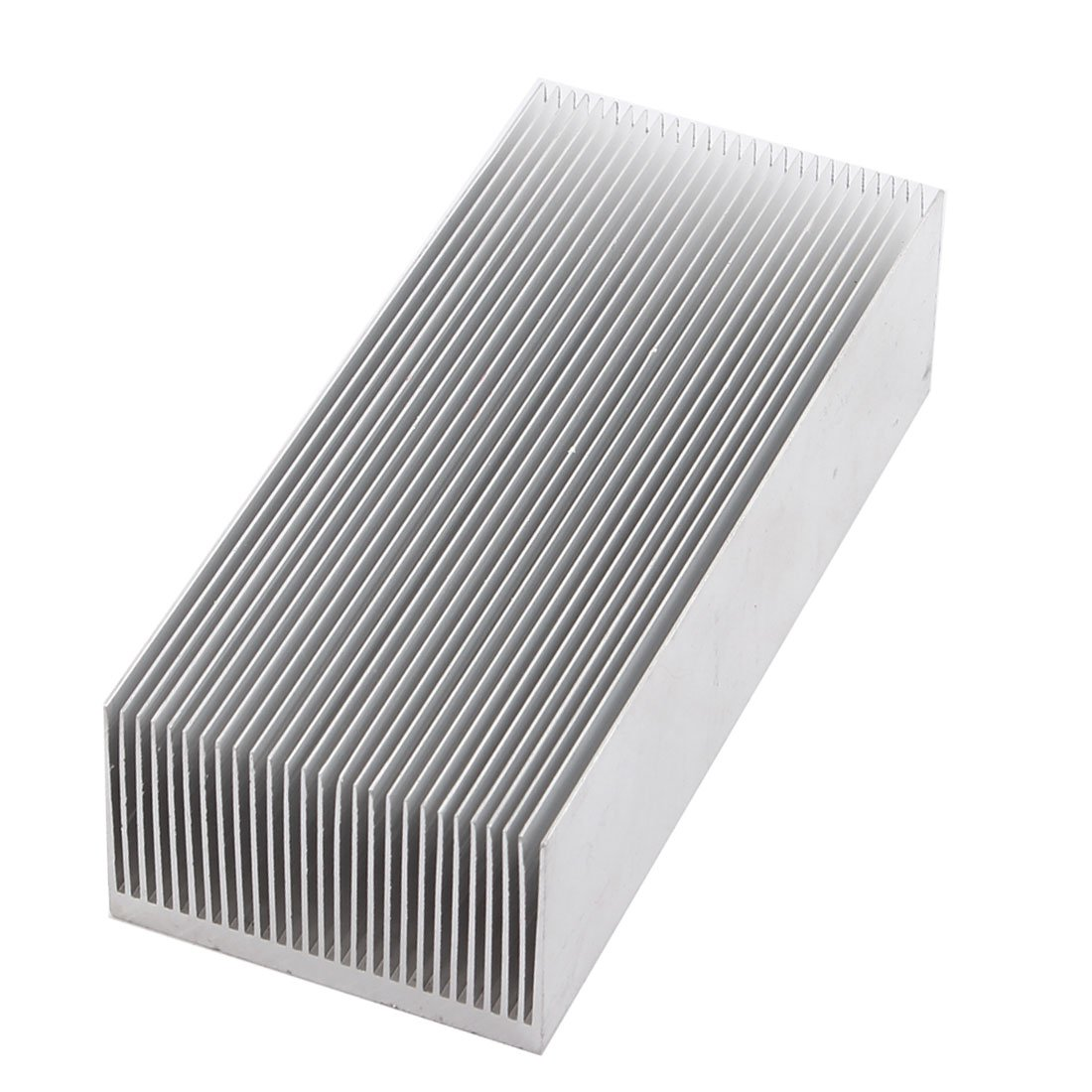 Uxcell a14111400ux0256 uxcell Aluminum Heat Radiator Heatsink Cooling Fan 150x69x37mm Silver Tone by uxcell (Image #1)