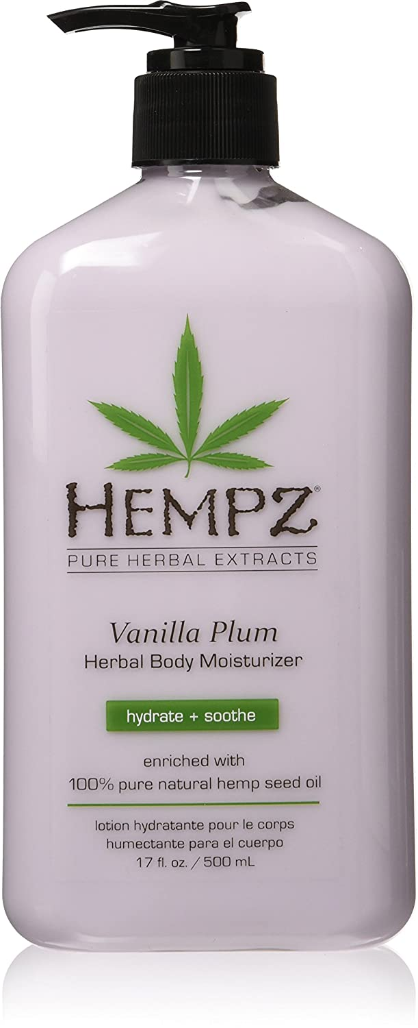 Hempz Vanilla Plum Herbal Moisturizer 110-2132-03