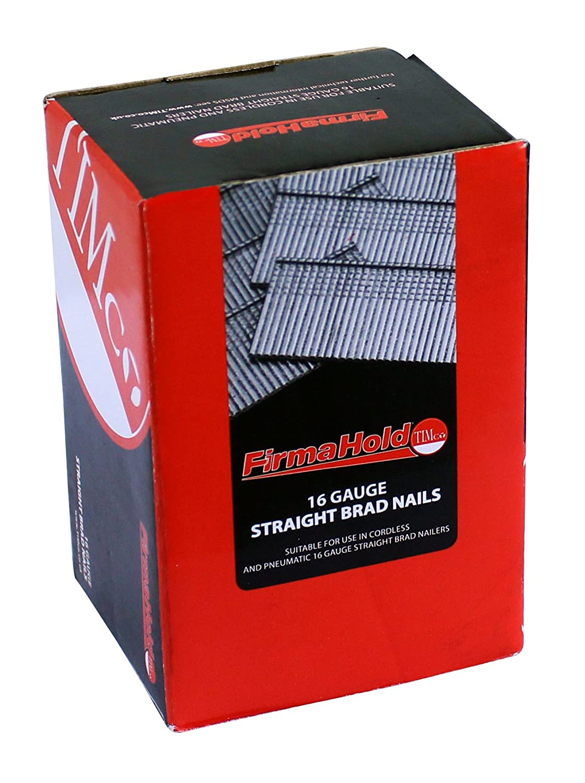 Box of 2000 Galvanised TIMCO BG1645 Firmahold Straight Brad 16 x 45