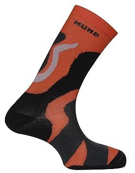 MUND Tramuntana Antibacteriano 407 - Calcetines para Hombre, Color Naranja, Talla XL (46-49): Amazon.es: Zapatos y complementos