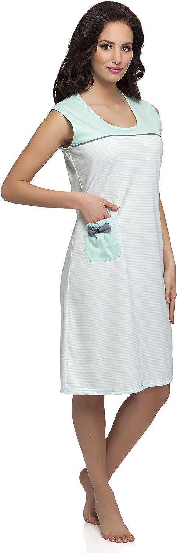 Merry Style Chemise de Nuit Lingerie Robe dInt/érieur Femme M1R32