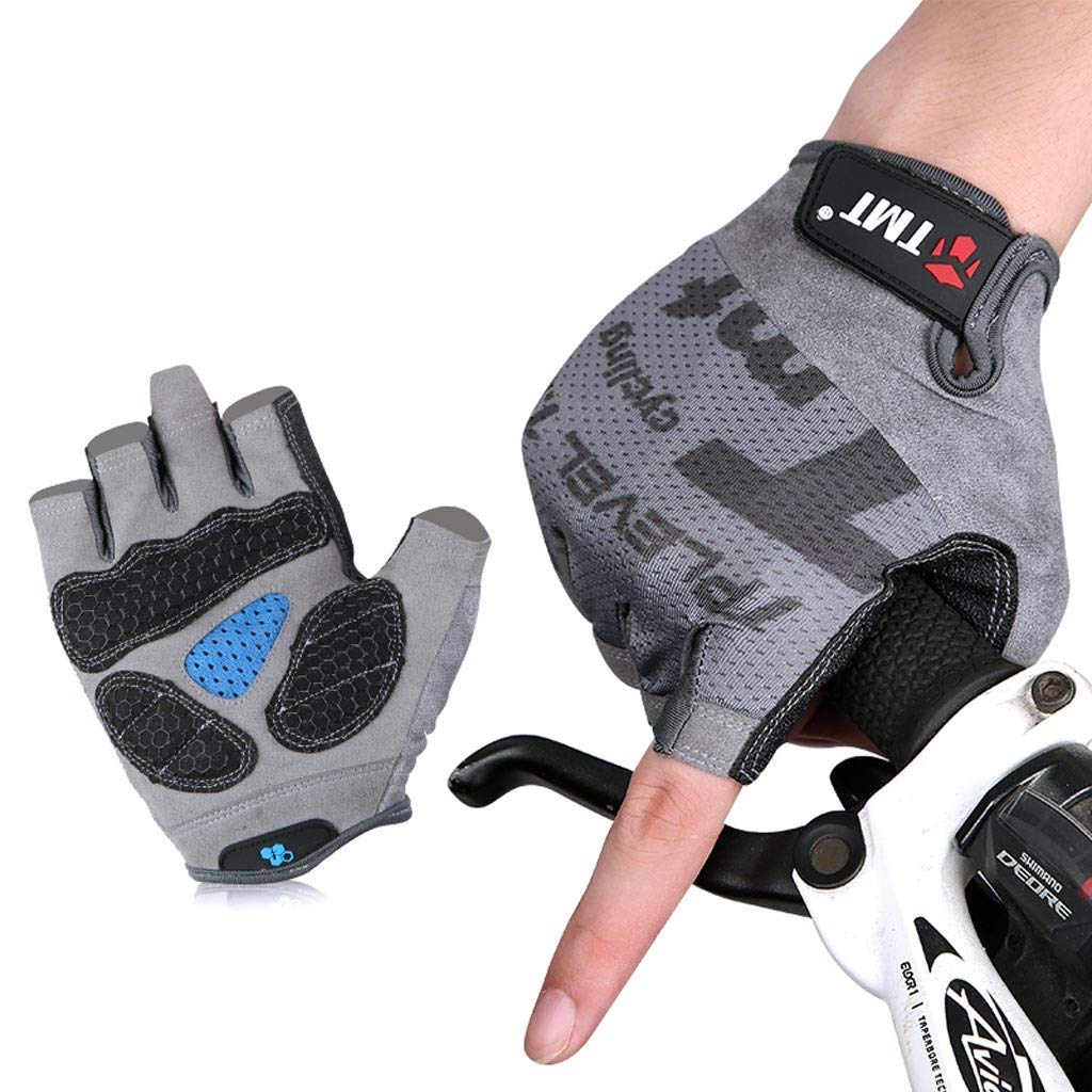 Weight Lifting Gloves Cycling Fitness Gloves Male Mountain Bike Gloves Breathable Gloves (Size : L) boyang