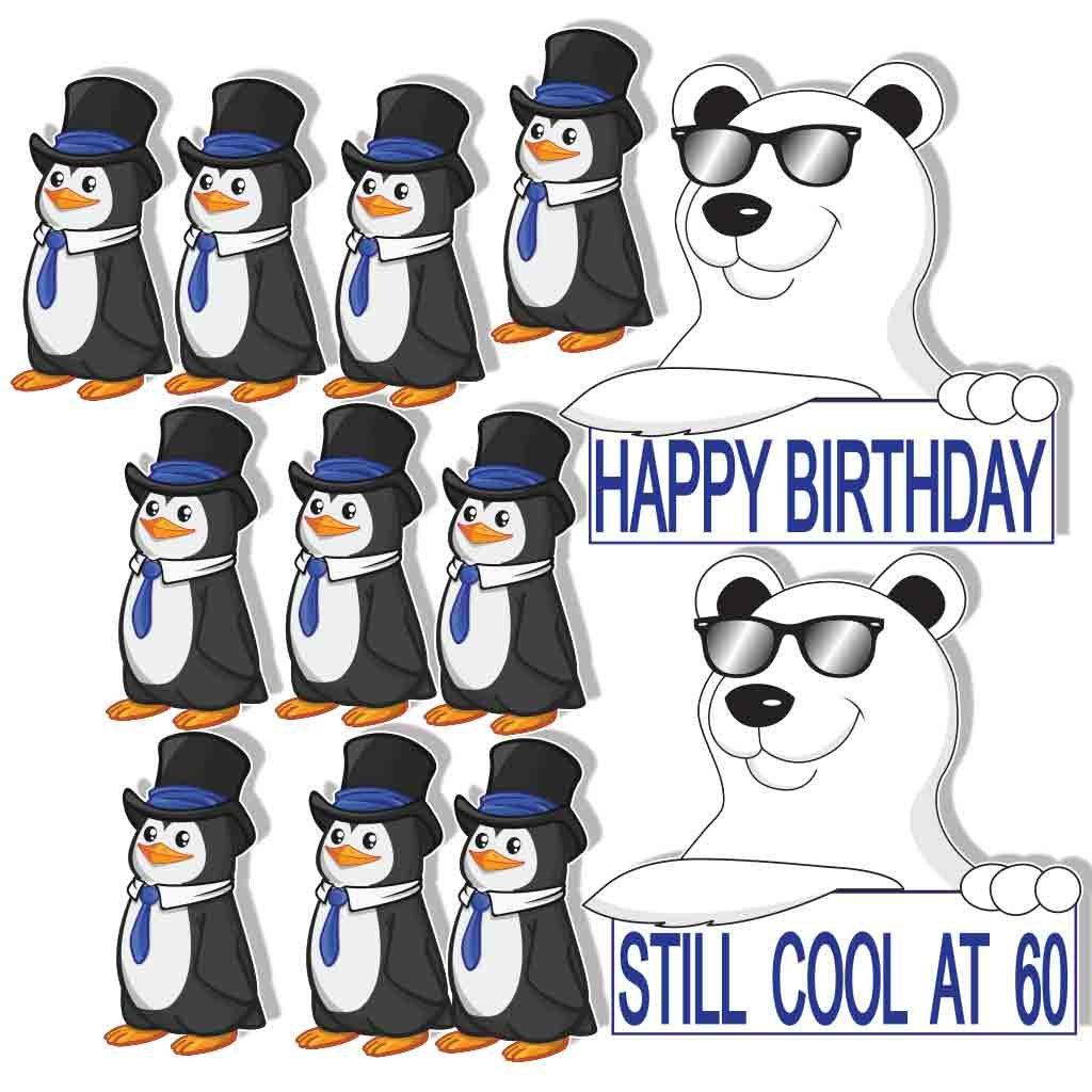 Amazon.com: Tarjetas de cumpleaños Yard – AÚN Cool a 60 – 14 ...