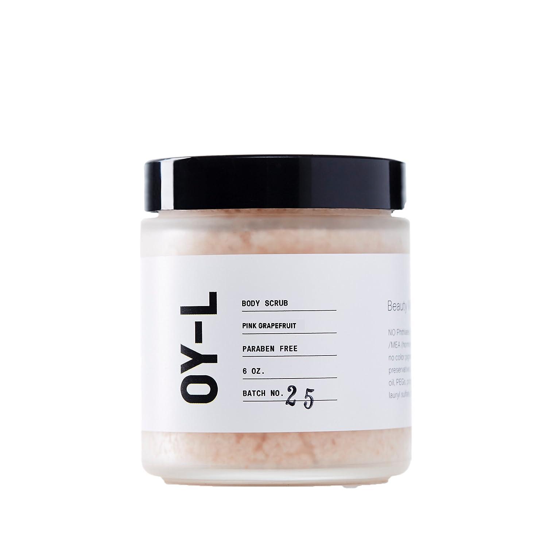 OY-L Pink Himalayan Salt Body Scrub (Pink Grapefruit)