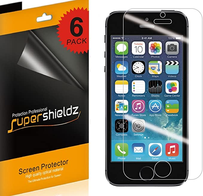 Screen Protector for iPhone SE//iPhone 5 // iPhone 5s // iPhone 5C Tempered Glass Film Scratch-Resistant Conber Screen Protector for iPhone SE//iPhone 5 // iPhone 5s // iPhone 5C 1 Pack