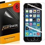 [6-PACK] Supershieldz iPhone SE / 5S / 5C / 5 Anti-Glare & Anti-Fingerprint (Matte) Screen Protector Saver + Lifetime Replacements Warranty - Retail Packaging