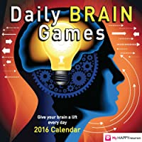 Daily Brain Games 2016 Day-to-Day Calendar