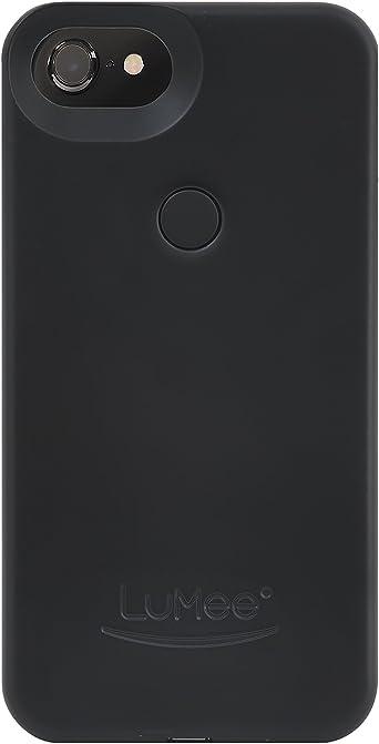 LuMee Coque pour téléphone avec deux selfies, noir mat   éclairage ...