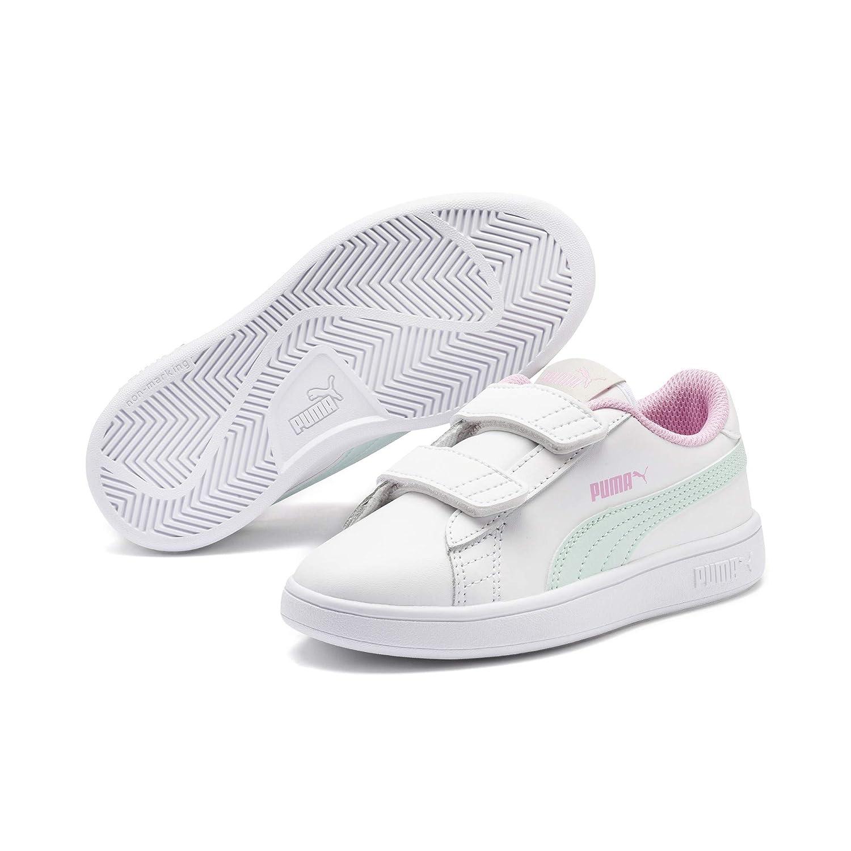 san francisco dd226 5977f Puma Smash V2 L V PS, Sneakers Basses Mixte Enfant  Amazon.fr  Chaussures  et Sacs