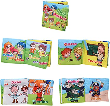 New Kid Baby Intelligence Development Cloth Cognize Book Educational Toy Gift