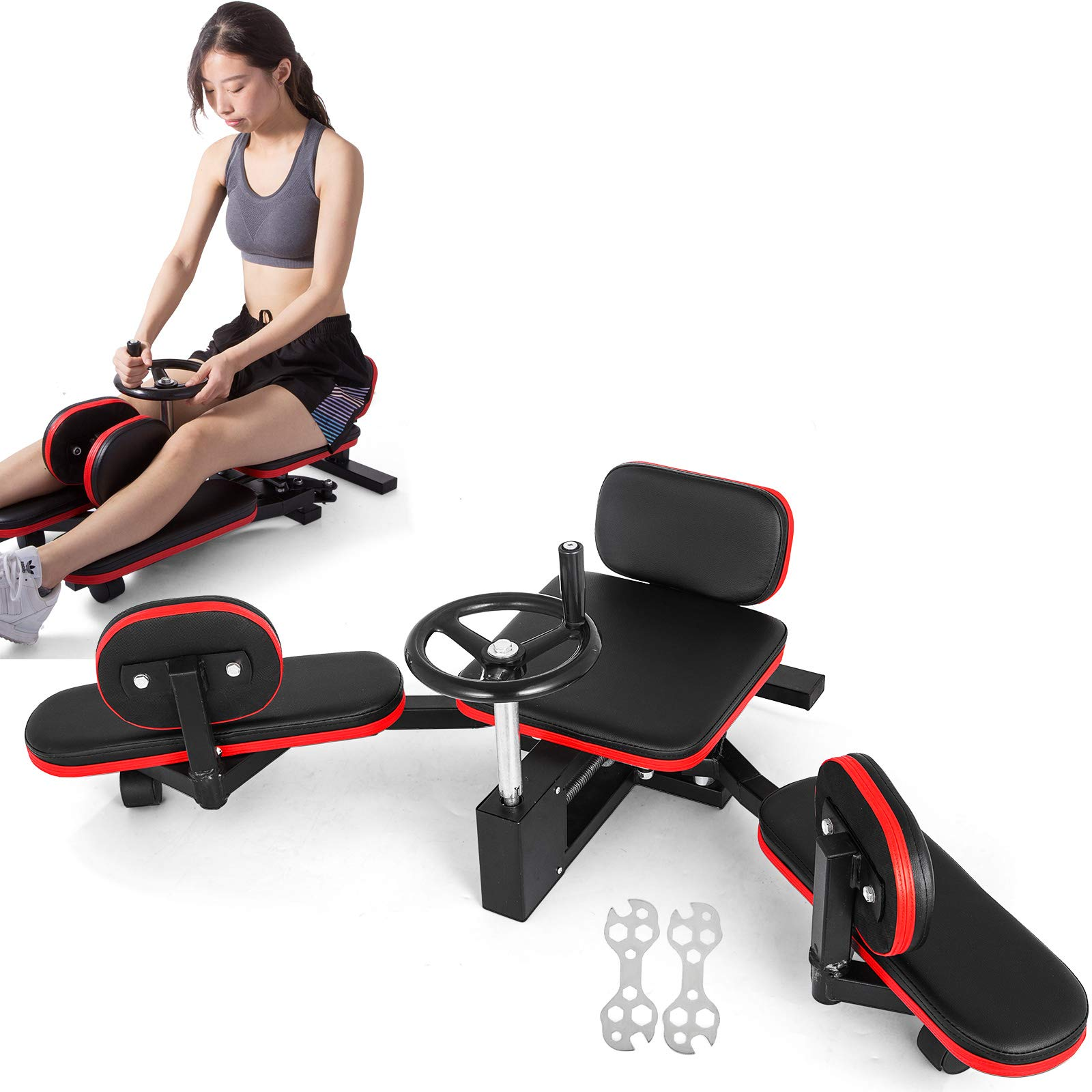 Leg Stretcher Stretching Training Machine Equipment Martial Arts Heavy Duty Calf