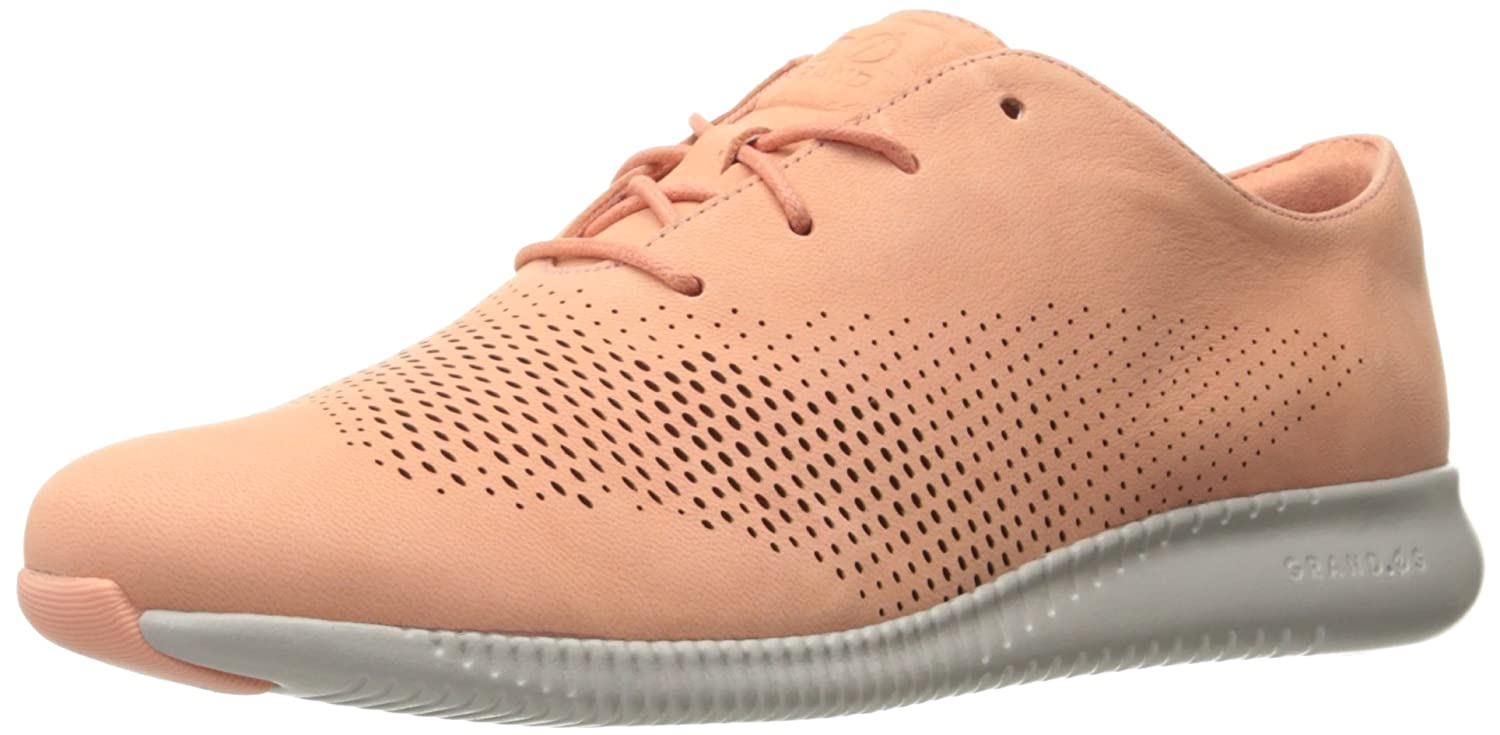 Cole Haan Women's 2.Zerogrand Laser Wing Oxford B01ND0SZW0 8.5 B(M) US|Nectar/Vapor Grey