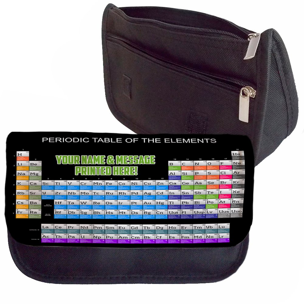 Personalised periodic table science st145 school pencil case make personalised periodic table science st145 school pencil case make up bag games console ds carrier amazon office products urtaz Image collections
