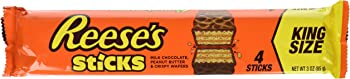 24-Pack REESE'S Peanut Butter King Size Candy Sticks