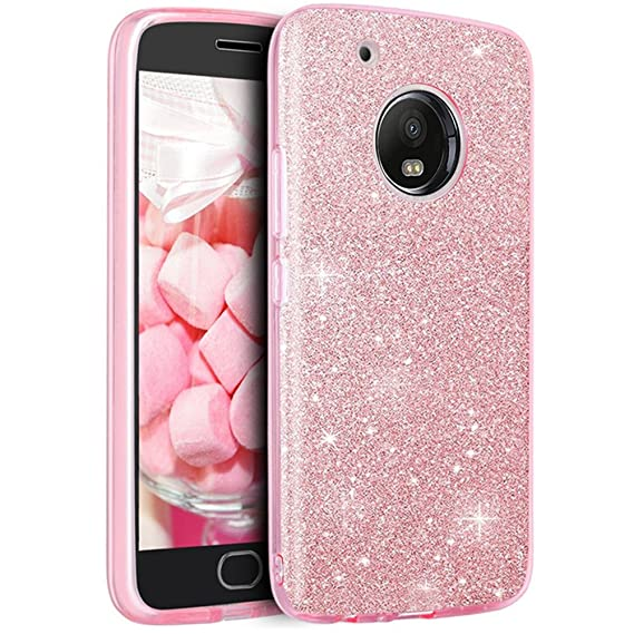 promo code cfef8 4e2d0 Moto E4 Case, Moto E 4rd Gen Case, Dretal Sparkle Bling Full-body  Protective Case Slim Fit Fashion Glitter Cover For Motorola Moto E4 / Moto  E (4th ...